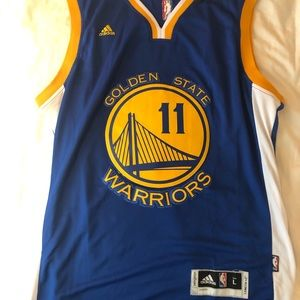 Klay Thompson Golden State warriors Jersey adidas